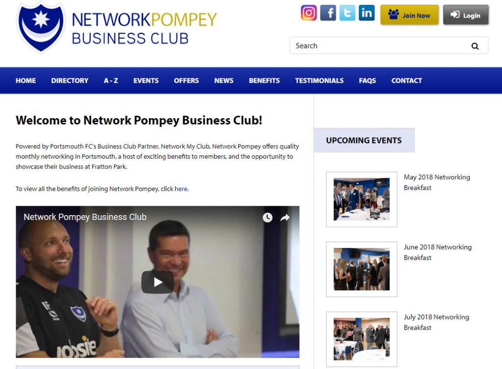 Network Pompey Business Club